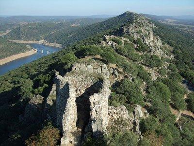 Parque Nacional de Monfragüe desde el Castillo.