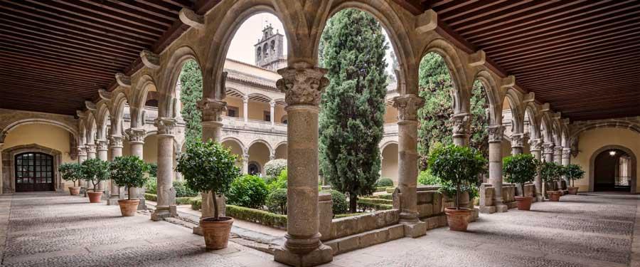 Claustro Monasterio de Yuste.