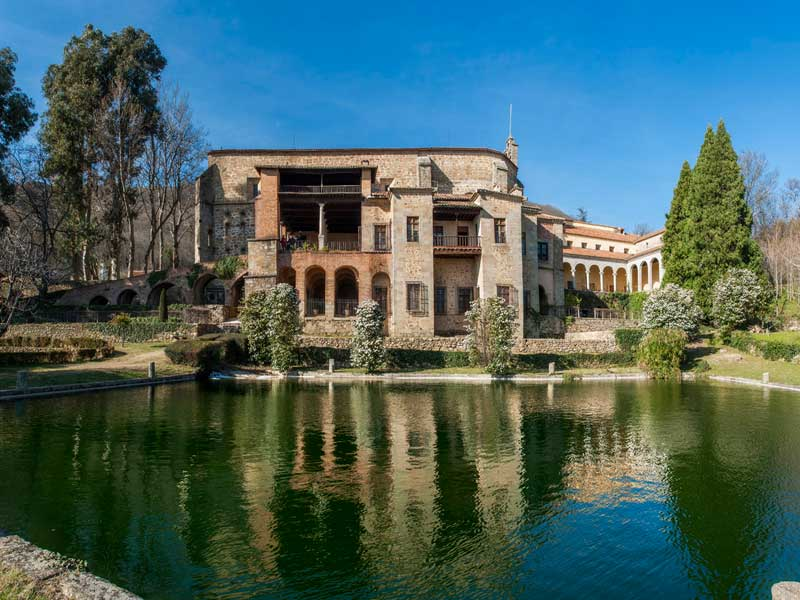 monasterio de yuste en cuacos
