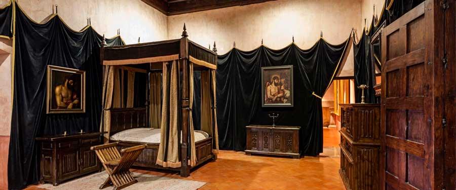 habitación Carlos V en Yuste
