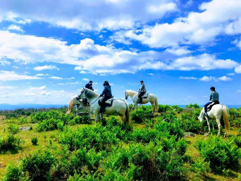 rutas a caballo por la Vera