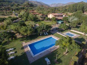Casas rurales con piscina en la Comarca de la Vera